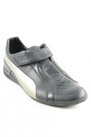 Puma Zapatillas con velcro negro-color oro look casual