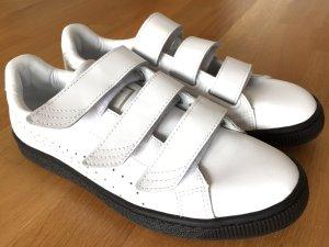 Puma - Sneaker - Klettverschluss - weiß/schwarz
