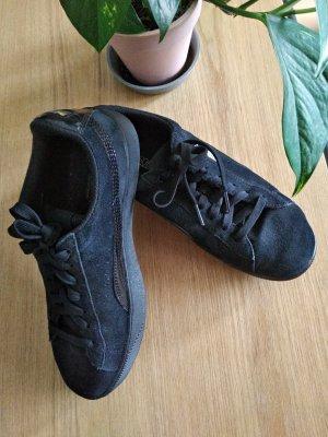 Puma Sneaker mit Plateu-Absatz schwarz Gr. 39