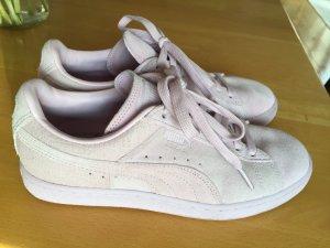 Puma Sneaker rosa Wildleder Größe38