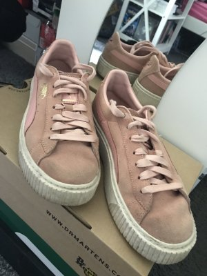 Puma Lace-Up Sneaker pink-pink
