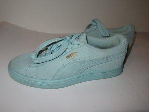 Puma Sneaker Schuhe Gr. 36 türkis Suede