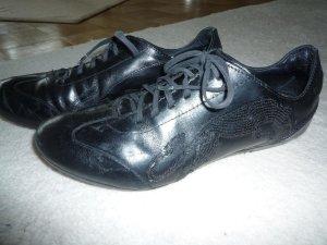 PUMA Sneaker schwarz Gr. 38 Leder- letzte Preissenkung