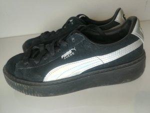 Puma Sneaker schwarz/silber