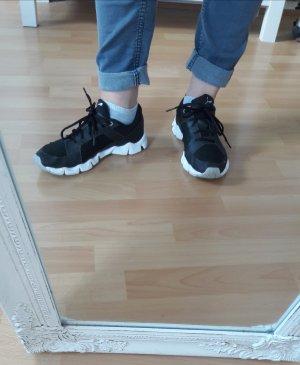 Puma Sneaker Sportschuhe Turnschuhe schwarz