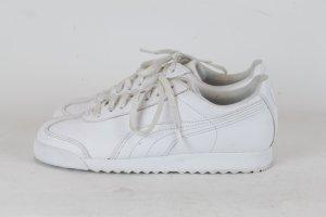 Puma Sneakers met veters wit Gemengd weefsel
