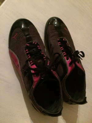 Puma Sneaker Turnschuhe in schwarz-pink