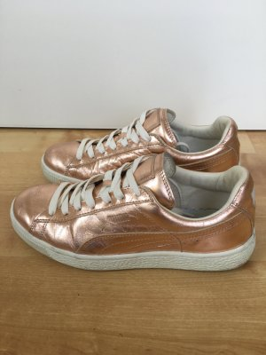 PUMA Sneaker Turnschuhe metallic rosegold Gr. 37