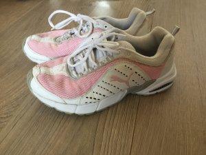 Puma sneaker Turnschuhe weiß rosa