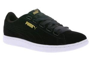 Puma Sneaker Vikky Ribbon Gr.38,5 schwarz