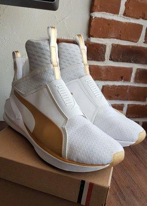 Puma Sneaker Weiß/Matt Gold