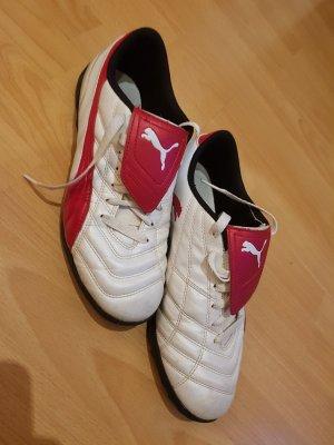 Puma Sneaker: Weiss - Rot