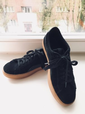 Puma Sneakers black-gold-colored