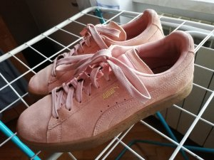 PUMA Sneaker Wildleder rose