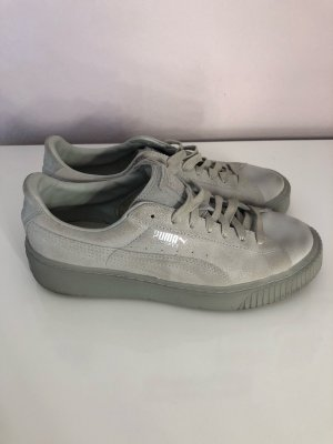 Puma Sneakers met veters grijs