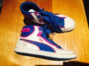 Puma Sneakers limited edition Gr. 38 High top Leder und Wildleder