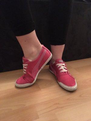 Puma Sneakers Pink in gutem Zustand