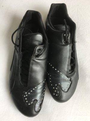 PUMA Sneakers Schwarz mit Strass, Größe 37,5