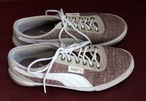 Puma Sneakers zum Schnüren / Webmuster