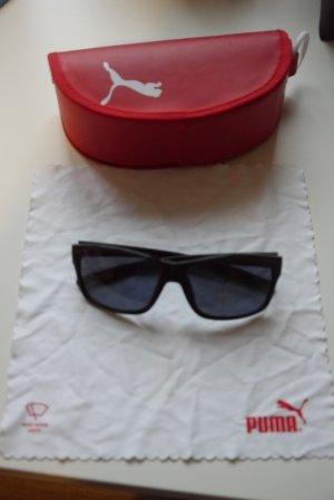 Puma Sonnenbrille ideal auch für Outdoor-Sport schwarz + Etui
