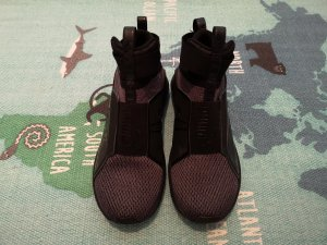Puma High Top Sneaker black