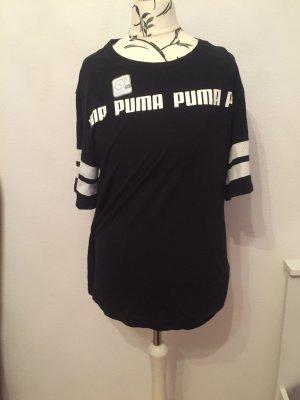 Puma Camisa deportiva negro-blanco