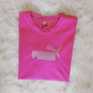 Puma Sport T-Shirt Pink Gr. M