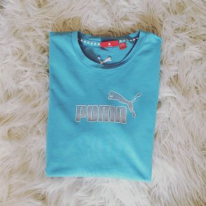Puma Sport T-Shirt Türkis Gr. M