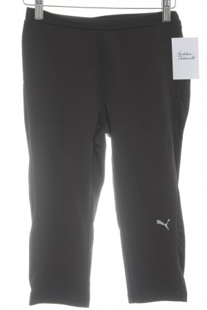 Puma Pantalon de sport noir style athlétique