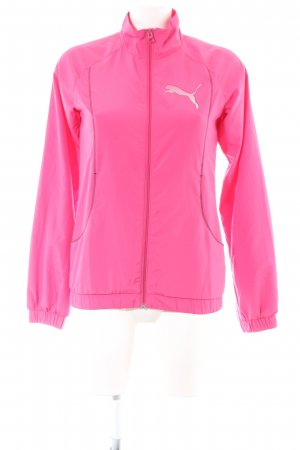 Puma Sportjacke pink Casual-Look