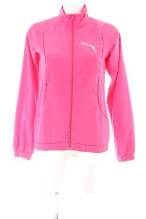 Puma Sports Jacket pink casual look