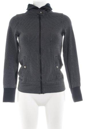 Puma Sports Jacket light grey flecked athletic style