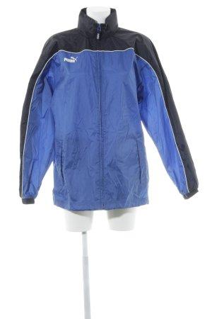 Puma Sportjacke blau-schwarz sportlicher Stil