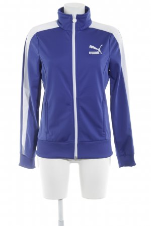 Puma Sports Jacket blue-white casual look