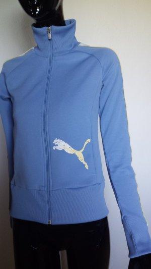 Puma Sportjacke himmelblau, Gr 34