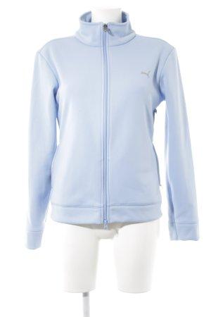 Puma Sportjacke himmelblau-hellgrau sportlicher Stil