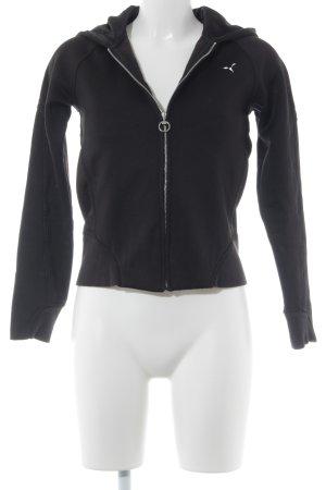Puma Sportjack zwart straat-mode uitstraling