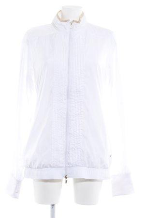 Puma Sportjacke weiß-goldfarben Casual-Look