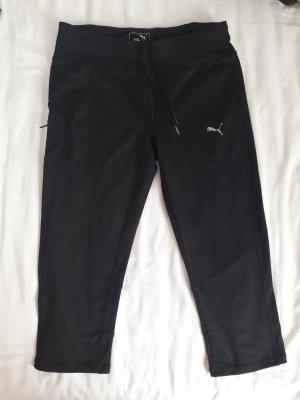Puma pantalonera negro-color plata