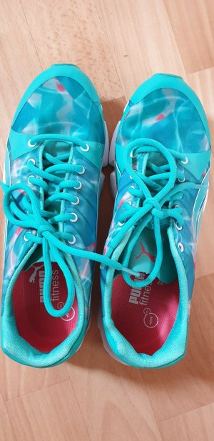 Puma Lace-Up Sneaker turquoise