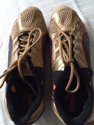 Puma Lace-Up Sneaker gold-colored
