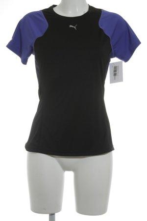 Puma T-shirt de sport motif rayé style athlétique