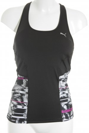 Puma Sporttop florales Muster Casual-Look