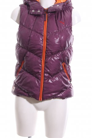 Puma Quilted Gilet quilting pattern casual look