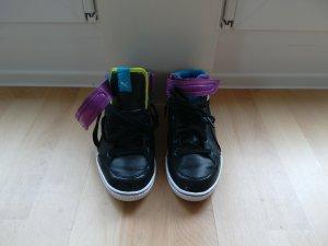Puma Stiefel Sneaker schwarz lila Gr 37