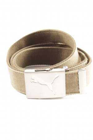 Puma Fabric Belt green grey-light orange casual look