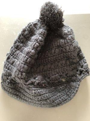 Puma Chapeau en tricot noir