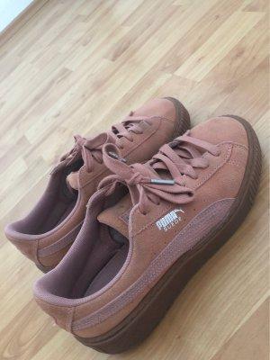 Puma Suede / Basket Sneaker Rosa