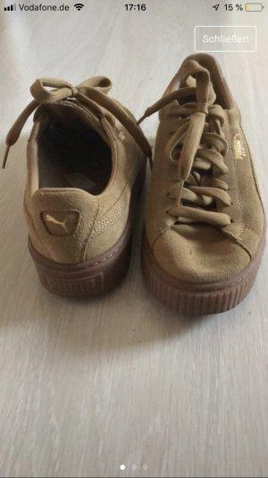 Puma Sneakers met veters beige-bruin