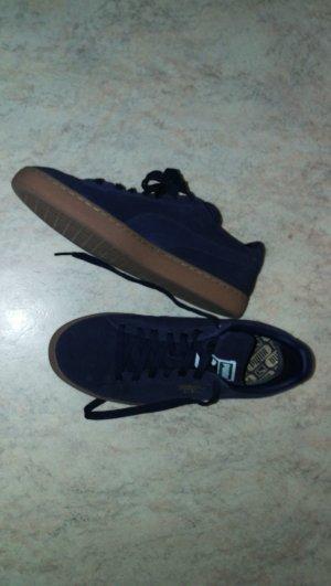 Puma Sneakers met veters donkerblauw